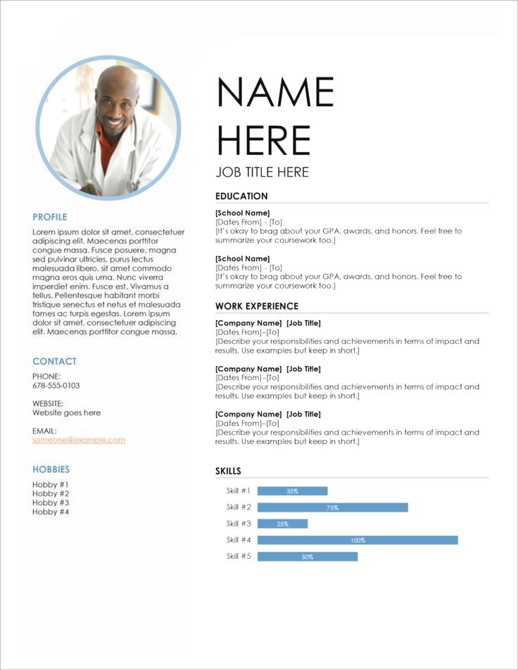Resume For Marketing Resume For Sales Resume For Word Mac Pc Cover Letter Professional Resume In 2020 Resume Template Modern Resume Template Resume