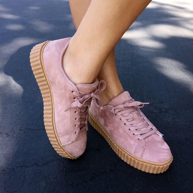 Jeepers Creepers Platform Sneakers #sneakers #platforms #creepers #pink #gojane