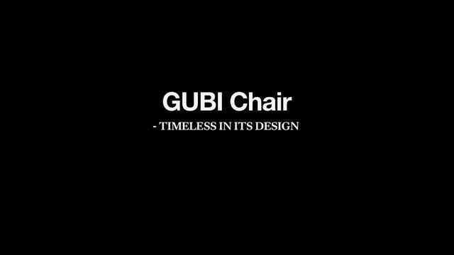 Gubi Chair by Komplot Design by Gubi