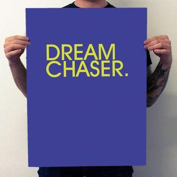 Dream Chaser Poster.