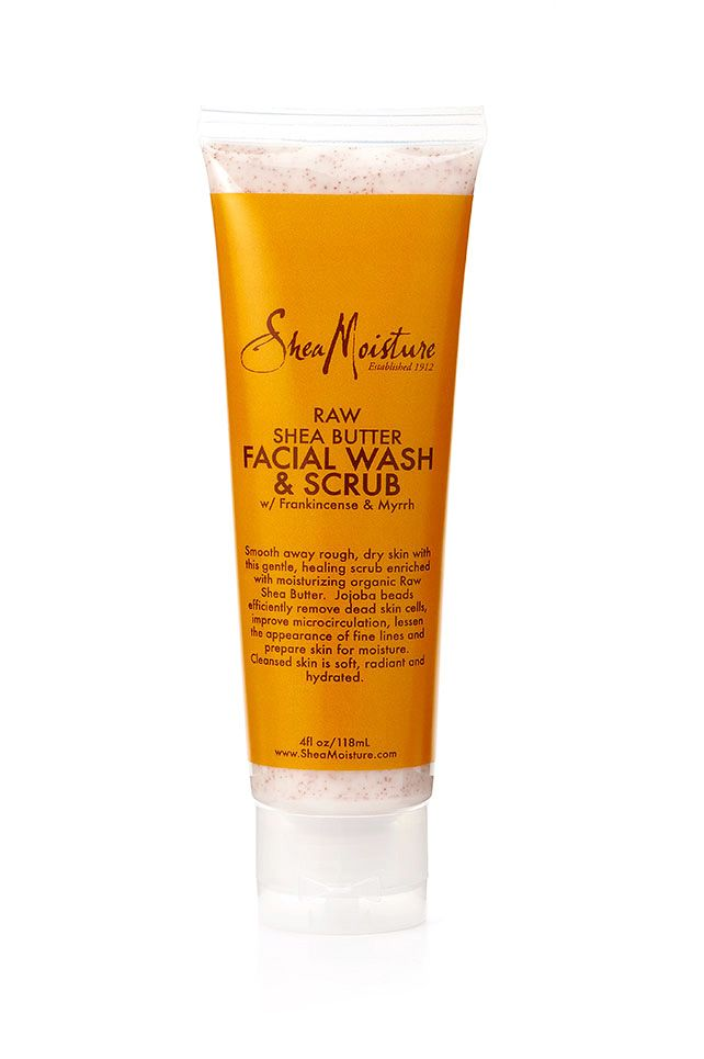Raw Shea Butter Facial Wash & Scrub