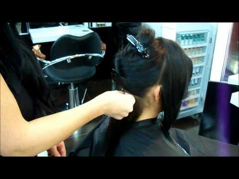 Keratin Full Head Extensions at Euphora Salon & Medi Spa in Queens, NY  www.euphoraciti.com