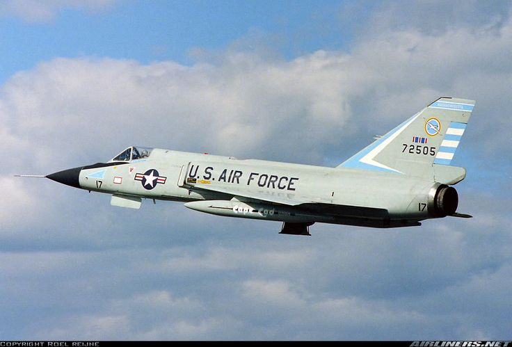 Convair F-106 Delta Dart, a beautiful aircraft!