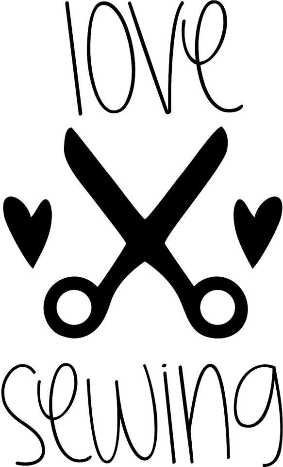 AlleinMein LIEBLINGSDINGE: Download Freebie Plotterdatei `love sewing`