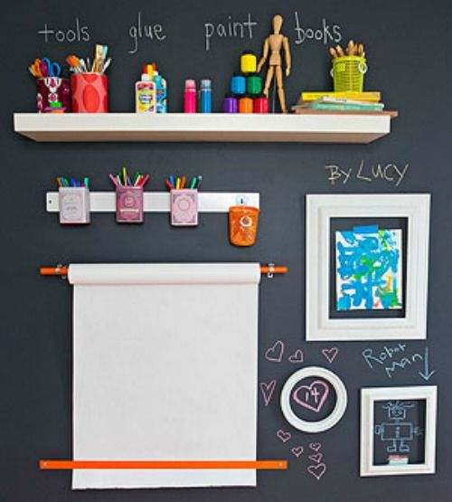 Wall easel picture frame woodworking projects plans for Picture frames organized on walls