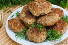 Receita de Almôndega de frango especial em receitas de aves, veja essa e outras receitas aqui!
