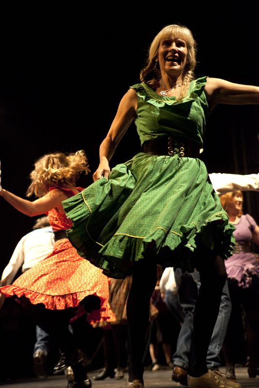 green grass cloggers through the ears | Image Asheville » Old Time Music and Dance at Swannanoa Gathering