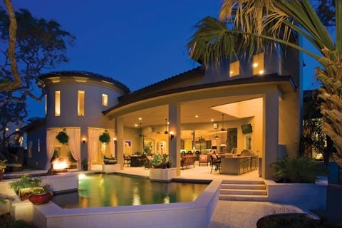 Outdoor living spaces dream-home