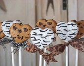 Mom's Killer Cakes & Cookies Leopard and Zebra Print Heart Shaped Cake Pops Southern Living Featured Shop