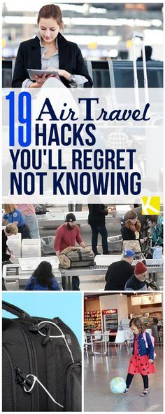 Traveling, while fun, isn't always a walk in the park. The airline is usually that culprit. Here are some airport hacks you'll regret not knowing that'll make your next flight a breeze!