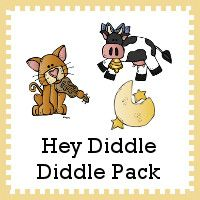FREE Hey Diddle Diddle Pack - over 55 pages plus a Tot pack - great for ages 2 to 7 - 3Dinosaurs.com