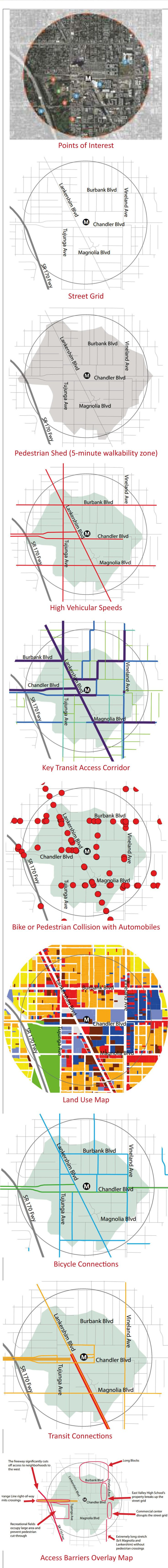 Here's a sequence ofmaps showing a stretch ofNorth Hollywood, adaptedfrompp. 20-21 of the exemplaryFirst Last plan Strategic Plan & Planning Guidelines published by LA Metro in March…