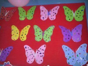 free butterfly craft