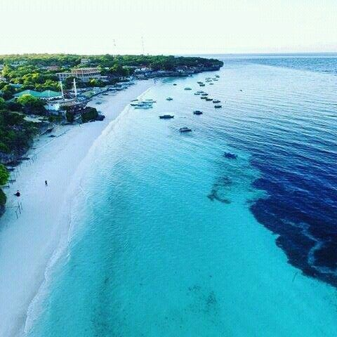Tanjung Bira and blue water