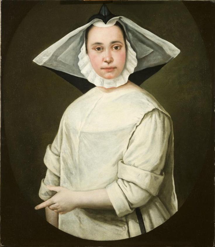 Giacomo Ceruti called Pitocchetto (1691-1768); Portrait of a nun, c.1730; Museo Poldi Pezzoli, Milan, Italy