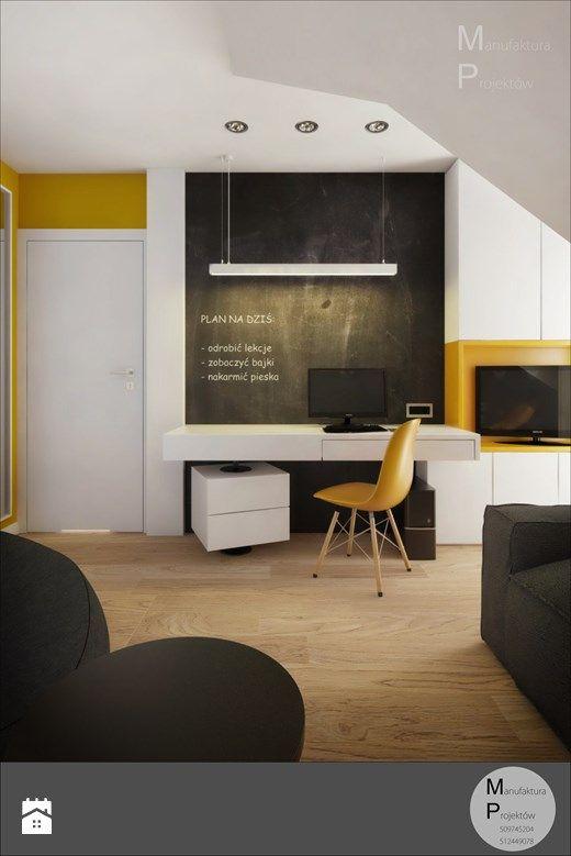 INTERIOR | Dom w Żorach - Pokój dziecka, styl nowoczesny - zdjęcie od Manufaktura Projektów