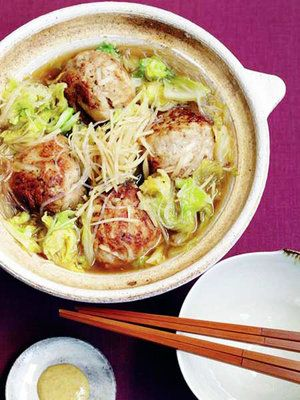 【ELLE a table】里芋肉団子鍋レシピ エル・オンライン