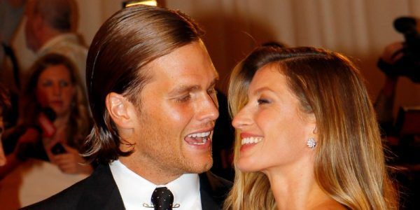 Tom Brady says Gisele Bundchen has this crazy fantasy about his long hair.