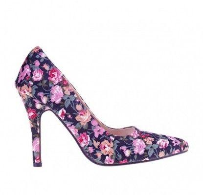 Női magassarkú cipő MATAR - fekete