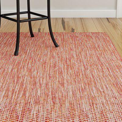 Ebern Designs Mullen Red Beige Area Rug Rug Size Rectangle 2 X 3
