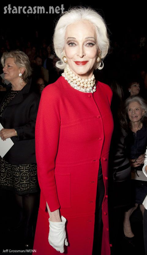 Carmen Dell'Orefice, who at 81 holds the Guinness World Record for Oldest Working Model, is still stunning her way down the catwalk