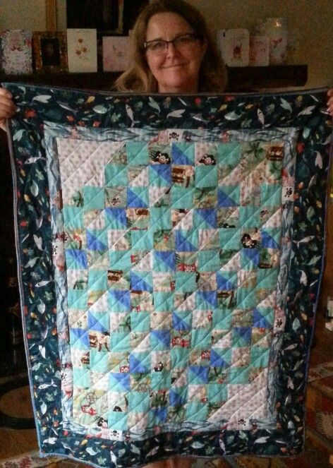Toby's pirate quilt
