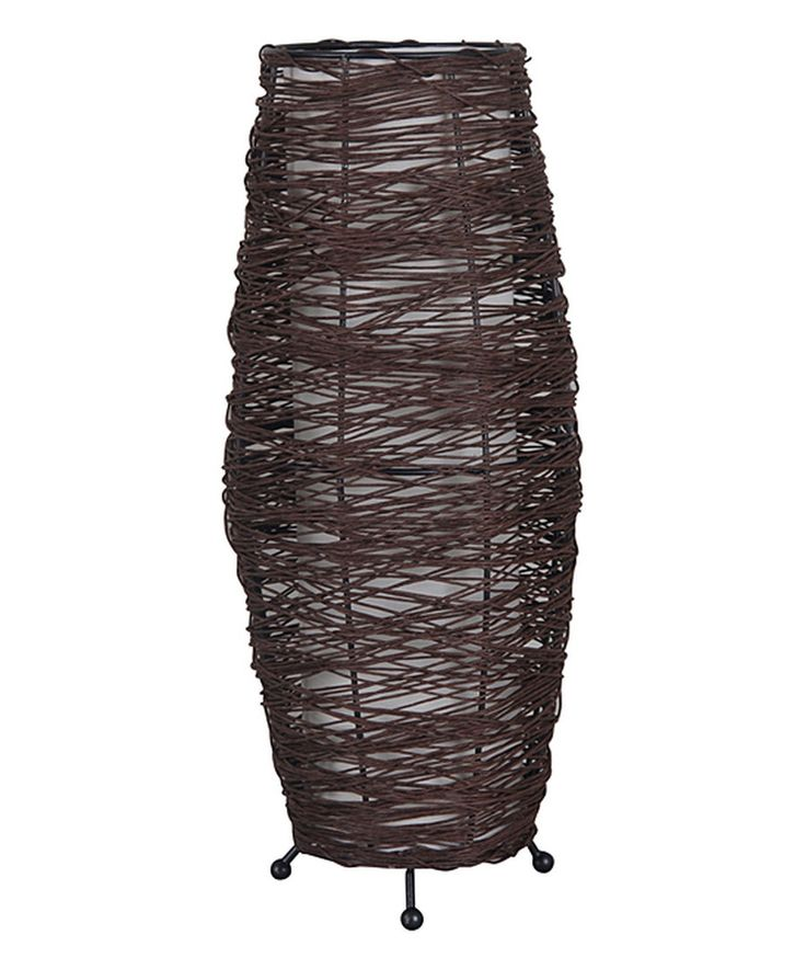 Look at this Rattan Floor Lamp on #zulily today!