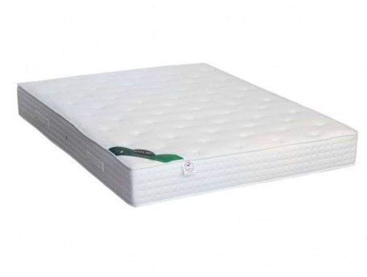 Taschenfederkernmatratze Baumwolle Bio Wolle Nymphea 140x190cm