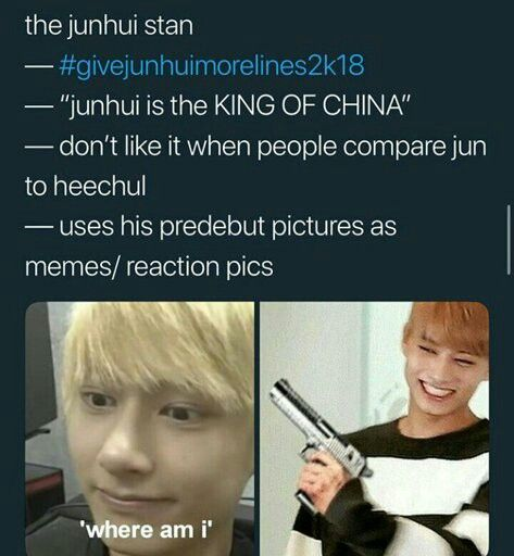 I dont mind when people compare heechul and junhui though, I used to hate it but...