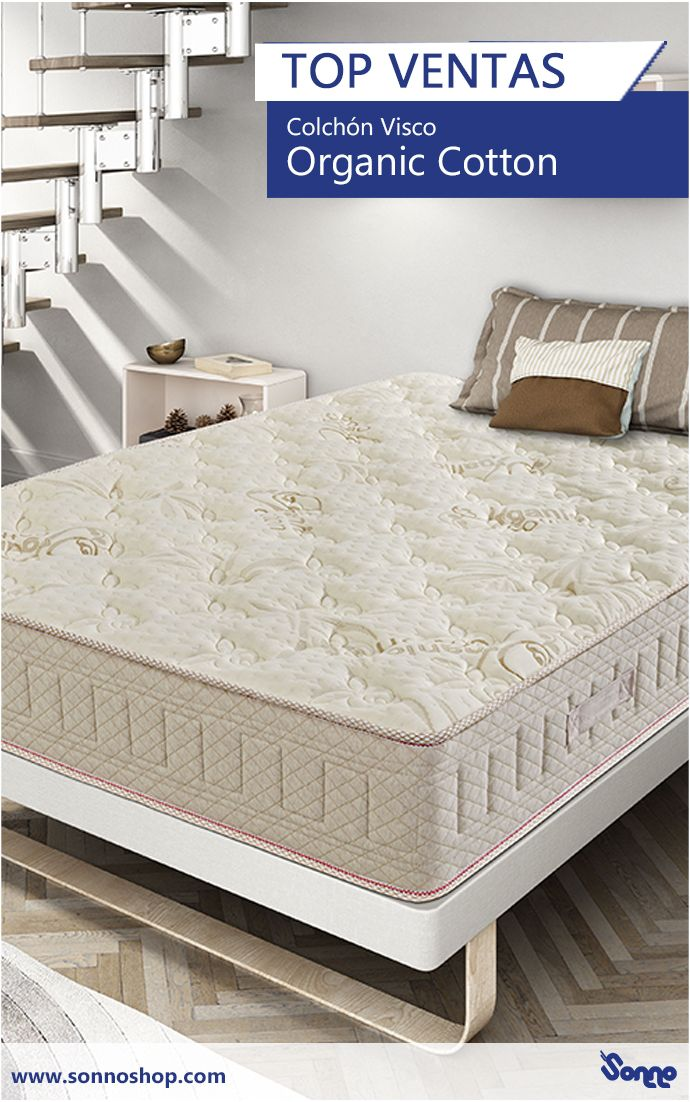 Detalles De Colchon Viscoelastico Hr Organic Cotton De Sonno Mattress Topper Reviews Mattress Memory Foam