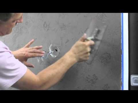 BETON tynk architektoniczny LUXMAL TG FILM JAK WYKONAĆ - YouTube