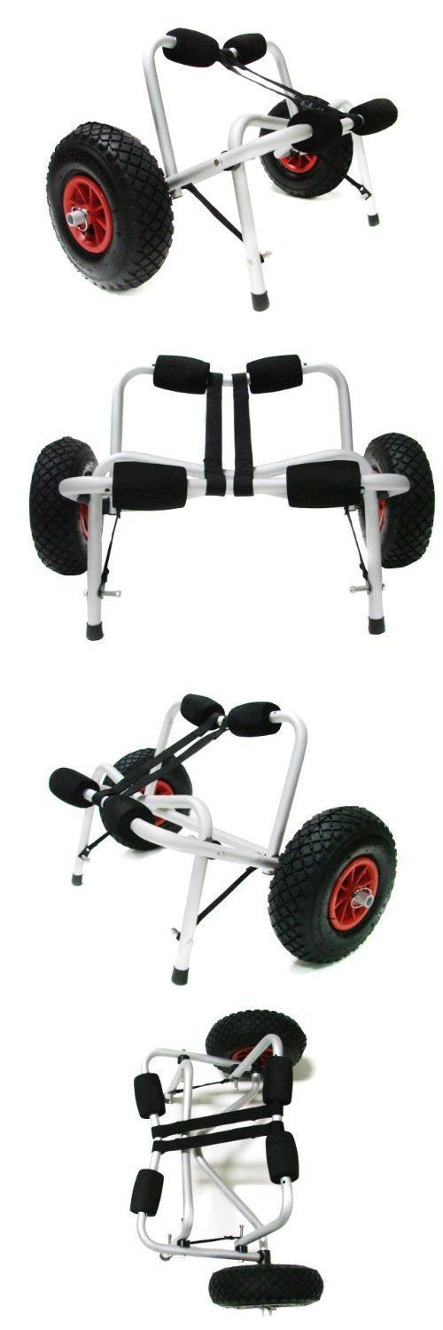 Other Kayak Canoe and Rafting 36123: Kayak Canoe Carrier Trolley -> BUY IT NOW ONLY: $46.57 on eBay!