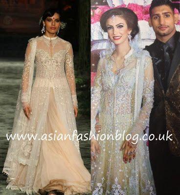 Asian Fashion Blog: Faryal Makhdoom Walima outfit - another Tarun Tahiliani creation!
