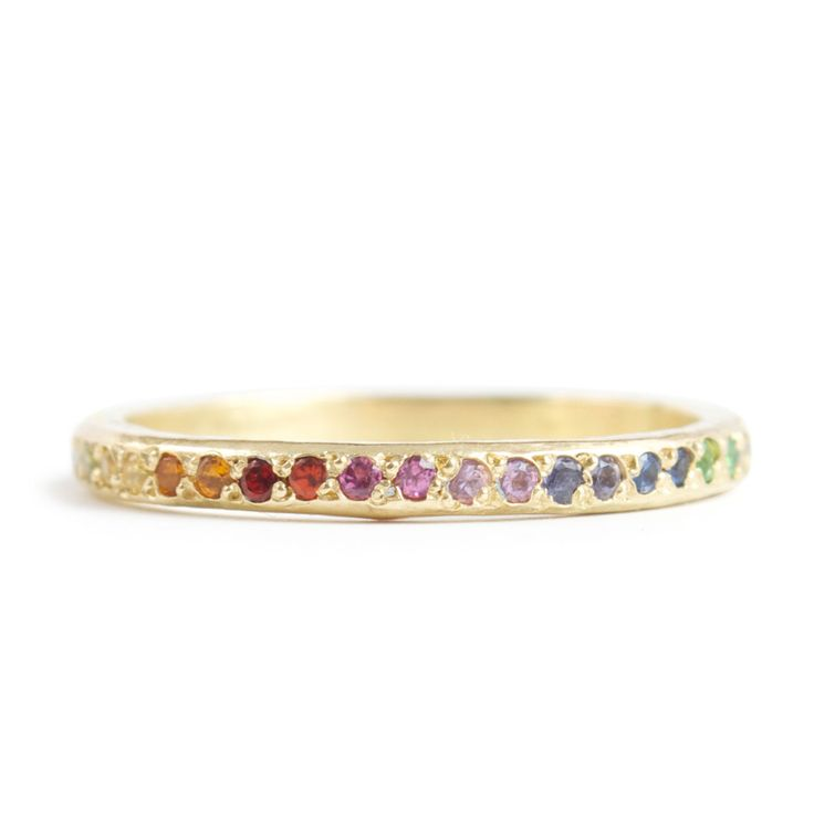 My future wedding ring from catbird || We love all things tiny, shiny and gold.