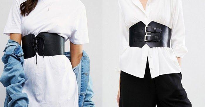 Un must da non lasciarsi scappare per la primavera estate? La cintura corsetto, ecco come indossarla!