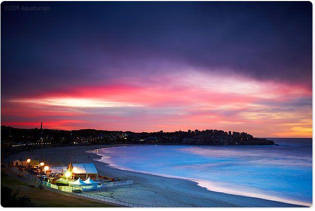 Bondi Beach at Dusk