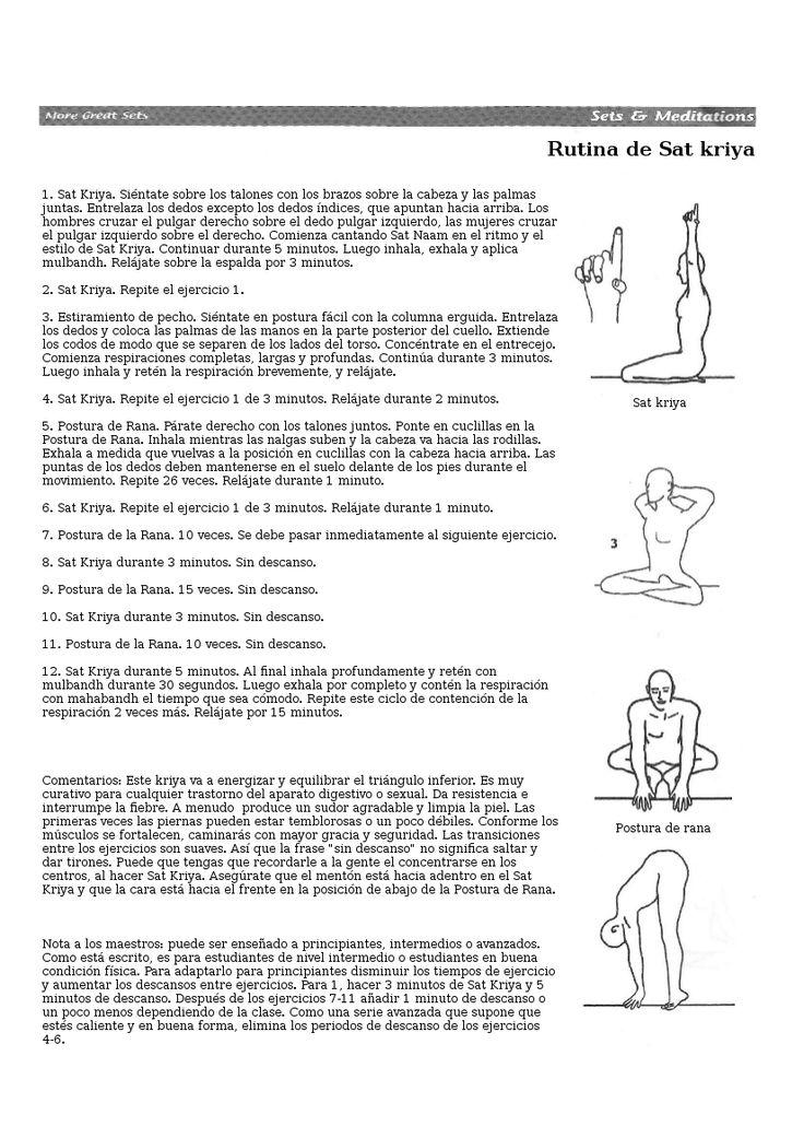 """La Kriya de la Semana: Energiza y Equilibra el triángulo inferior con la """"Rutina de Sat Kriya"""" Esta semana en Ðespertares Yoga hemos iniciado el desafío de experimentar y construir este poderoso K..."""