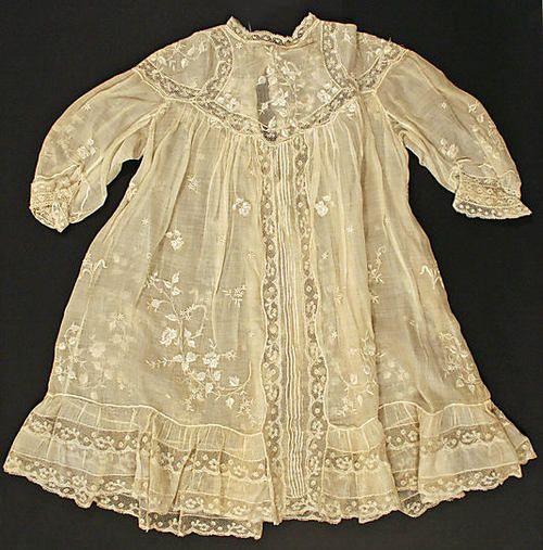 Child's Dress  1905  The Metropolitan Museum of Art