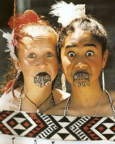 white Maori