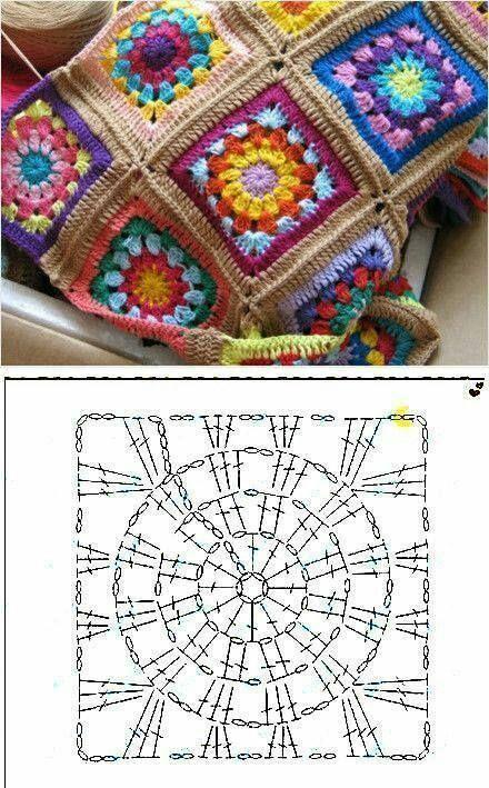 Crochet Chunky – Punto tunecino diagonal – crochet (◕‿◕✿)