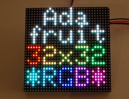 RGB LED matrix panel tutorial