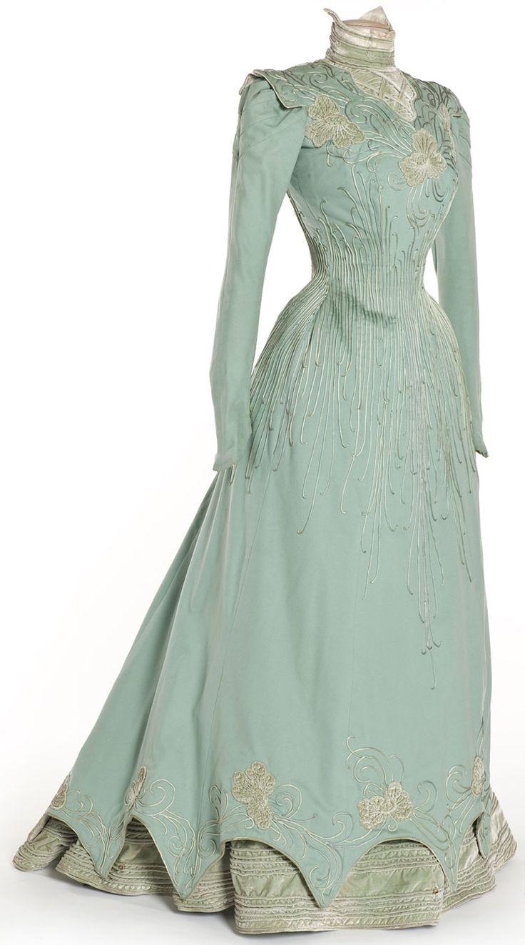 Dress, 1898 Paris, Les Arts Décoratifs