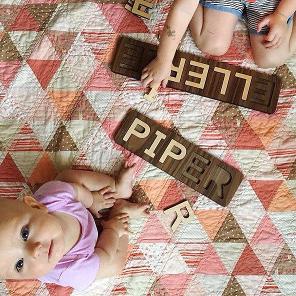 119 best baby gifts images on pinterest baby gifts baby beautifully crafted timeless wooden name puzzles for children handmade in minnesota usa negle Image collections