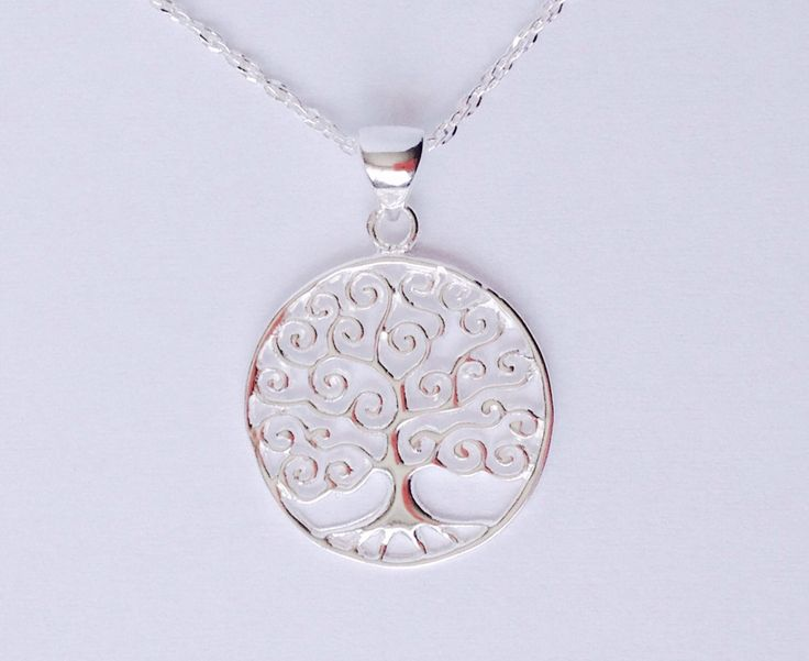 Silver tree of life pendant from my Etsy shop https://www.etsy.com/listing/495294087/tree-of-life-pendant-tree-of-life. #treeoflife #nature #yoga #urbanbeat