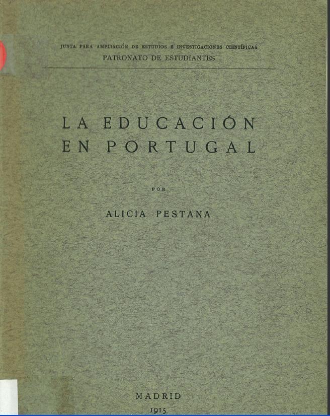 La educación en Portugal / por Alicia Pestana