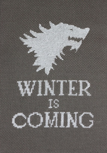Game of Thrones inspired Cross Stitch by Josie