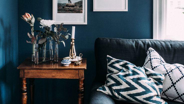 17 meilleures idees a propos de cuisine bleu canard sur With attractive couleur bleu canard deco 0 3 nuances de bleu pour booster votre deco
