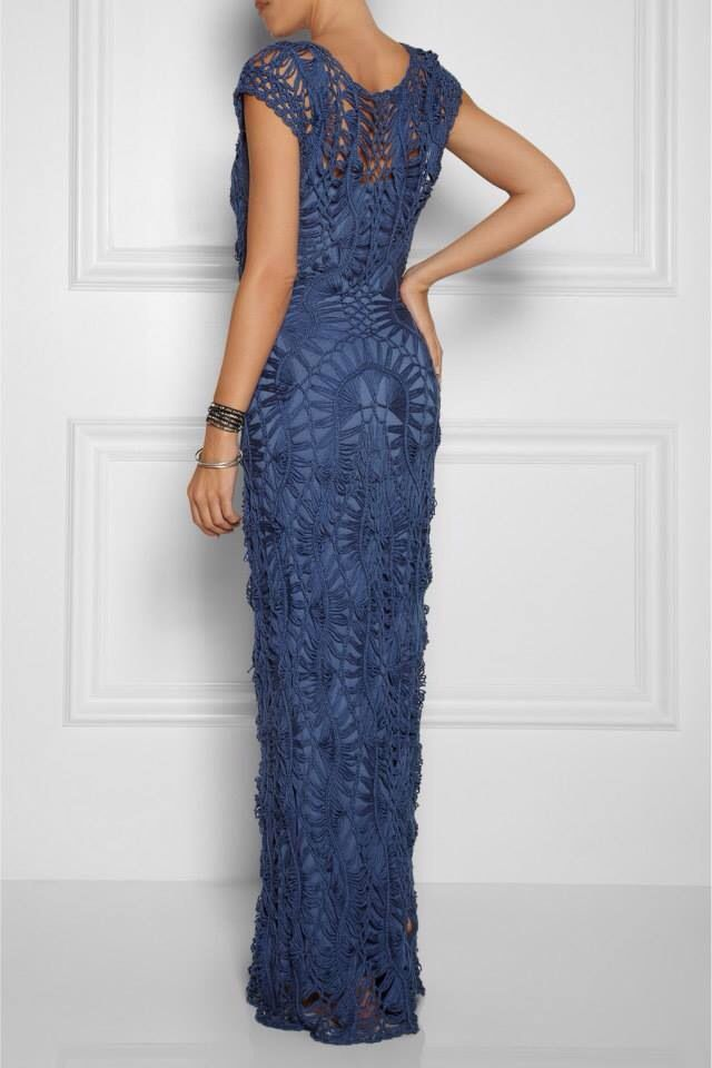 I'm on the hunt for a blue dress! This is not what I'm after but georgous!