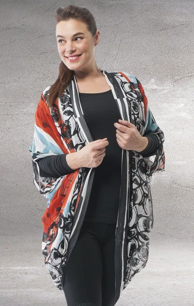 Orientique New World Coat Cover Up