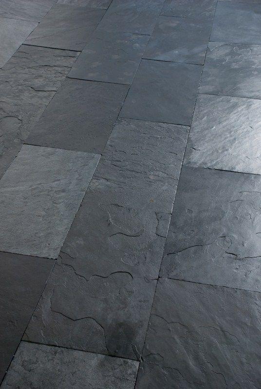 Material. Slate flooring AFRICAN BLUE - ARTESIA.